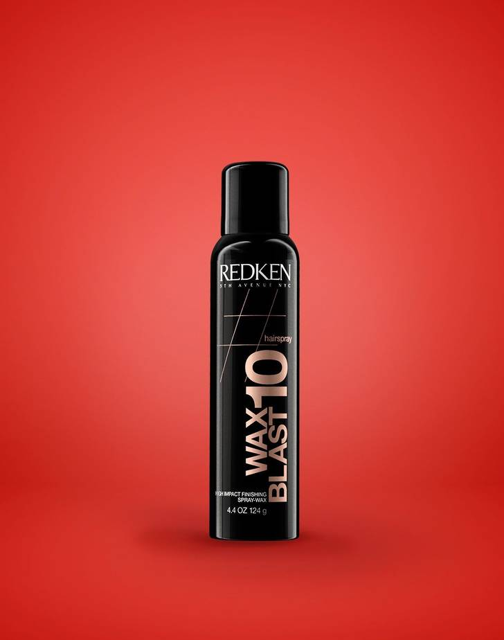 Wax Blast 10 High Impact Finishing Spray-Wax Av Redken