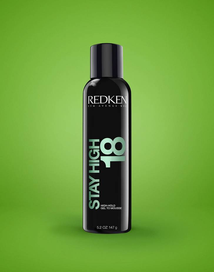 Stay High 18 High-Hold Gel To Mousse Av Redken